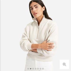 ISO - The Oversized Fleece Half-Zip